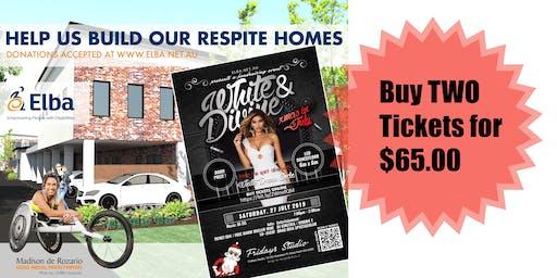 White & Divine EOFY Fundraiser 'Elba Respite Homes'