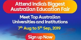 Apply to Australian universities at IDP's Free Australia Education Fair in Coimbatore– 7 Aug 2019 to 5 Sept 2019