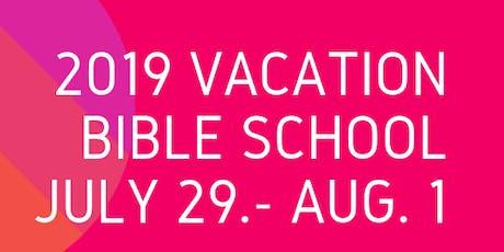 2019 Vacation Bible School -Alleyne & Lomax A.M.E Zion Church tickets
