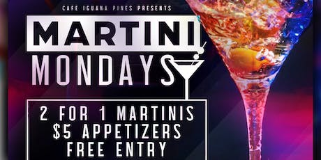 Martini Mondays tickets
