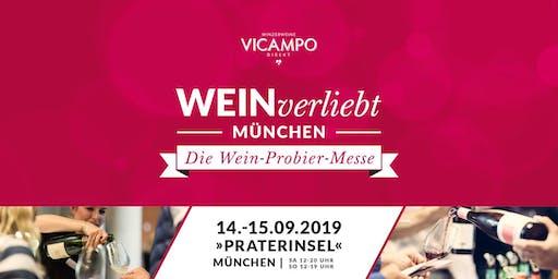 VICAMPO WEINverliebt München 14./15. September 2019