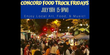 Concord Food Truck Fridays  tickets