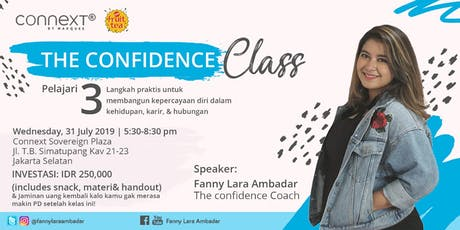 The Confidence Class by Fanny Lara Ambadar tickets