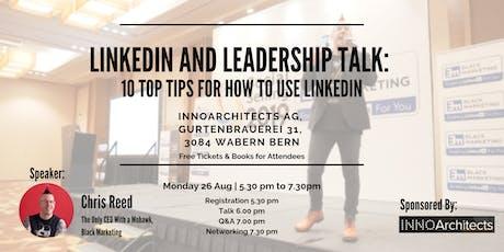LinkedIn and Social Selling Talk billets