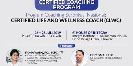 Certified Life & Wellness Coach tickets