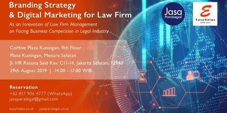 BRANDING STRATEGY & DIGITAL MARKETING FOR LAW FIRM tickets