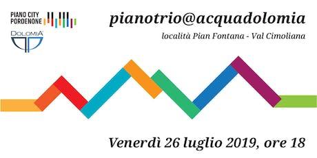 pianotrio@acquadolomia biglietti