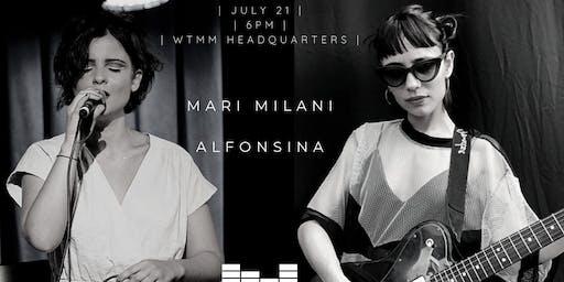 6th WtMM Balcony Show: Alfonsina + Mari Milani