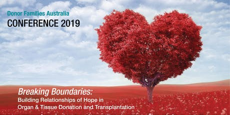 Donor Families Australia Conference 2019 tickets