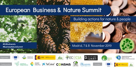 European Business and Nature Summit tickets
