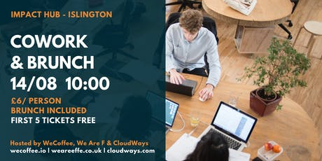 Cowork & Brunch @Impact Hub Islington tickets