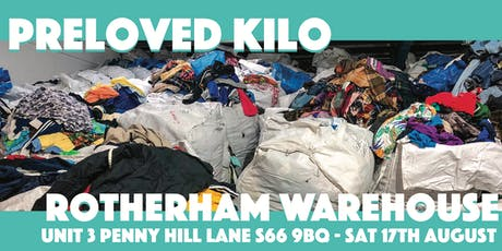 Rotherham Warehouse Preloved Kilo Sale tickets
