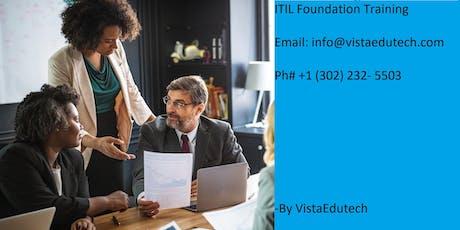 ITIL Foundation Certification Training in Texarkana, TX tickets