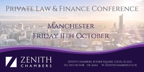 Manchester Private Law & Finance Conference tickets