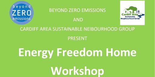 Energy Freedom Home workshop