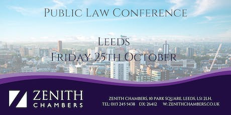 Leeds Public Law Conference tickets