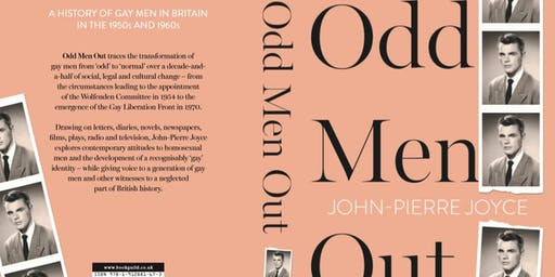John-Pierre Joyce's launch of 'Odd Men Out'