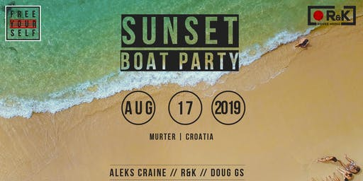 Free Yourself Boat party/ Sunset in Murter -  Croatia (INVITATION ONLY)