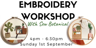 Embroidery Workshop #2