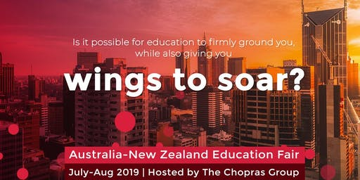 Australia & New Zealand Global Ed Fair 2019 in Bangalore