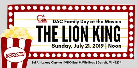 Detroit Alumnae Chapter Family Day at the Movies tickets
