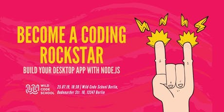 Node.js for Beginners - Build a desktop app with node.js ✌ Tickets