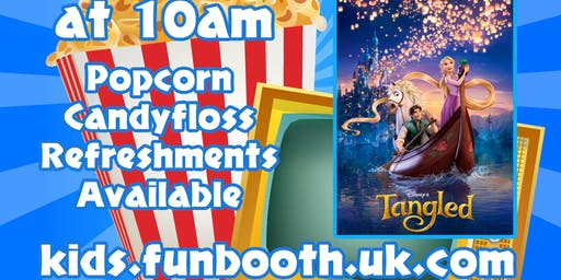 Funbooth - Kids Film Morning - Tangled