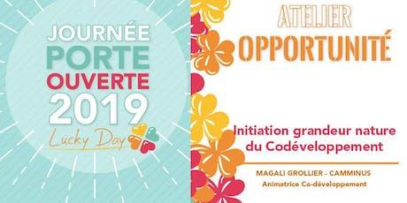 Atelier Opportunité - Découverte Séance de co-développement tickets