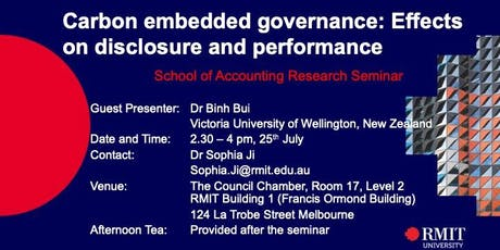 Carbon embedded governance: Effects on disclosure and performance tickets