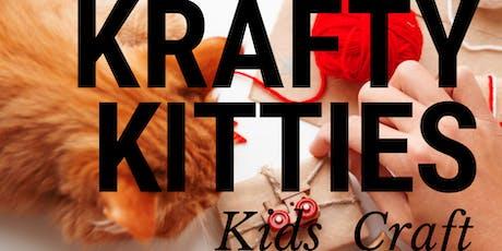 Krafty Kitties: Kids Craft Session tickets