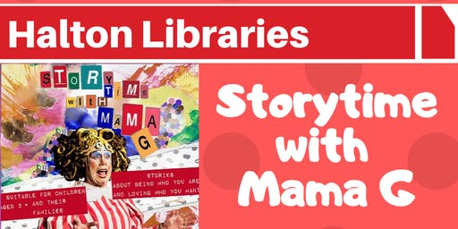 Mama G Storytime at Halton Lea Library