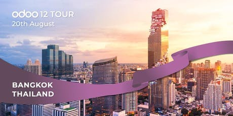 Odoo 12 Tour Meet us in Bangkok! tickets