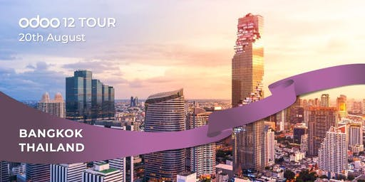 Odoo 12 Tour Meet us in Bangkok!