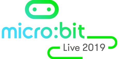 micro:bit Live 2019 tickets