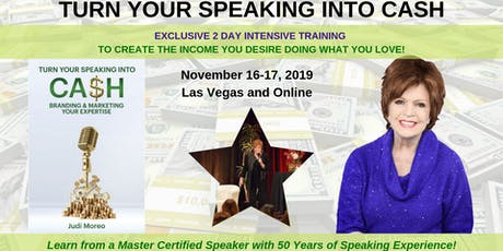 Turn Your Speaking Into Cash with Judi Moreo tickets