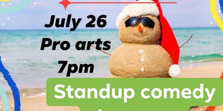 Stand up comedy showcase Christmas in July ! tickets