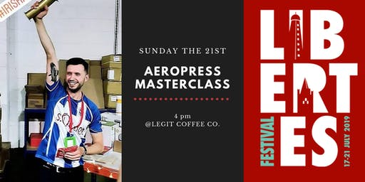 Aeropress Masterclass @Legit Coffee Co.