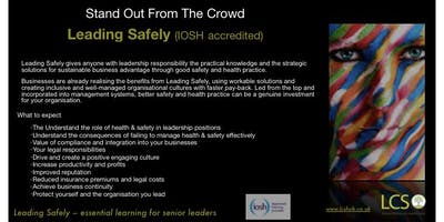 IOSH Leading Safely - Essential for Business Leaders