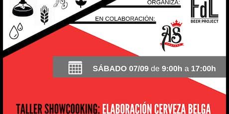 SHOW-COOKING Elaboración Cerveza Belga tickets