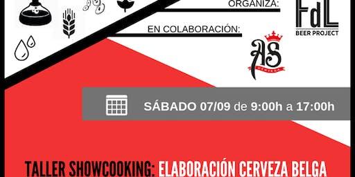SHOW-COOKING Elaboración Cerveza Belga
