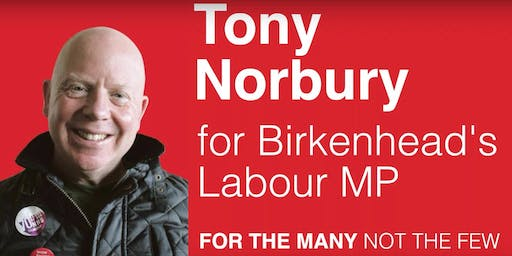 Tony Norbury for Birkenhead MP