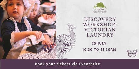 Victorian Laundry Discovery Workshop tickets