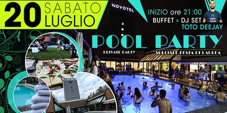 POOL PARTY NOVOTEL LINATE tickets