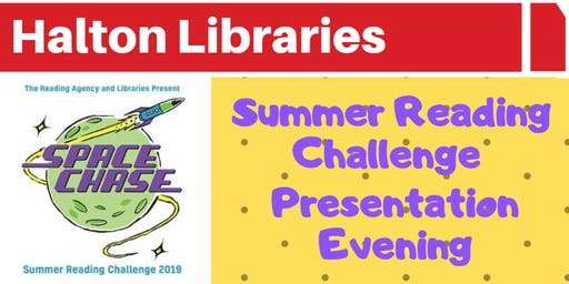 Summer Reading Challenge Presentation Ceremony - Widnes Library