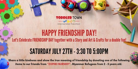 FRIENDSHIP DAY tickets