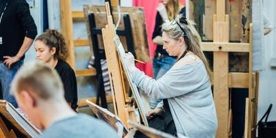 Plymouth College of Art - 10 Week Life Drawing and Painting for Beginners
