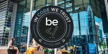 Infosessie BeCode @ Werkstation Genk tickets