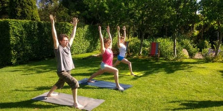 FREE:  YOGA ON RIMROSE VALLEY - FRIDAY 19TH JULY @ 10:30 tickets