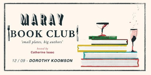 Maray Book Club presents: Dorothy Koomson