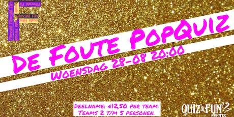 De  Foute PopQuiz   Filmcafé tickets